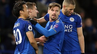 Impressive Leicester cruise to home win over Huddersfield