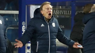 Cardiff City manager Neil Warnock gestures on the touchline during the 2-1 defeat to QPR.