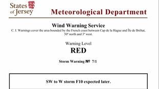 Met warning