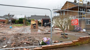 Homes torn down after fatal gas explosion