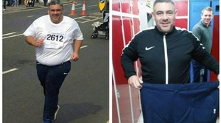 Tony Wedlake lost six stone