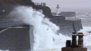Storm Eleanor set to bring 80mph winds to the Border region