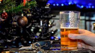 Three men were arrested by officers in Jersey as part of their Christmas drink drive campaign.