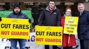 Newcastle protest over highest rail ticket price rise in five years