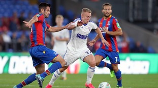Danny Rowe featured for Ipswich Town in the EFL Cup at Crystal Palace earlier this season.