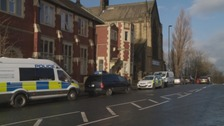 The police investigation in Byker.