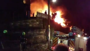 "Fire crews found the bungalow to be ""completely alight"" just before 8pm on New Year's Eve."