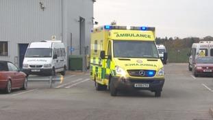 Unprecedented calls to Ambulance Service