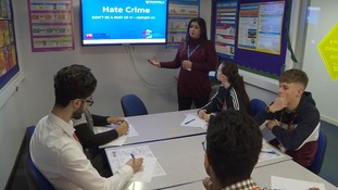 Students learn about tackling Hate Crime