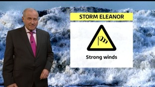 Weather warnings across the region as Storm Eleanor approaches