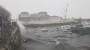 Amber warning for NI as Storm Eleanor takes hold
