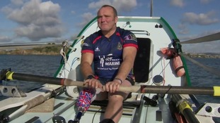 Lee Spencer has been dubbed the Rowing Marine.