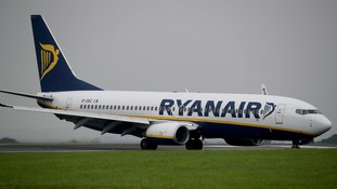Ryanair passenger arrested after trying to leave delayed aircraft 'via the wing'