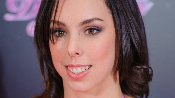 Olympian Beth Tweddle, one of this year's Dancing on Ice celebrities.