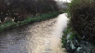 Flooding at L'Eree