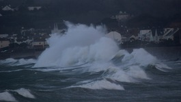 Storm Eleanor floods the Channel Islands
