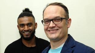 Khamran Uddin has turned his life around after meeting his victim, Tim Isherwood
