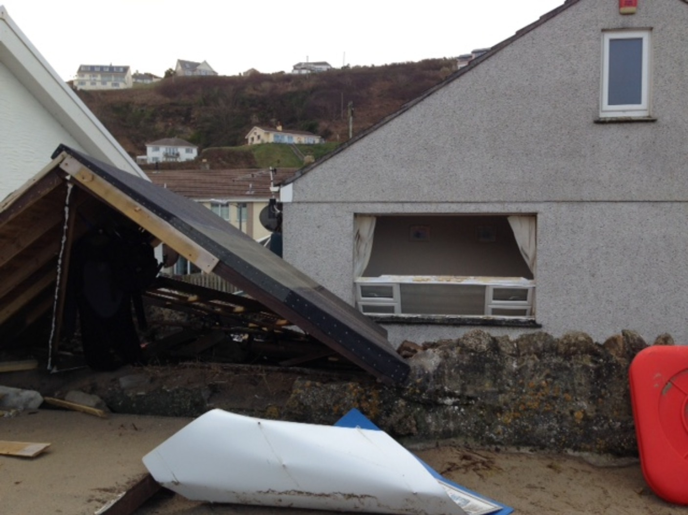 Storm Eleanor Hits The South West Thousands Left Without