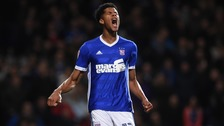 Jordan Spence was sent off for the first time in his career.