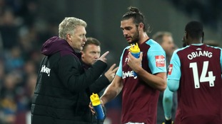 West Ham boss David Moyes hails Andy Carroll after his double downs West Brom