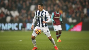 West Ham investigating claim supporter shouted abuse at West Brom's Jake Livermore