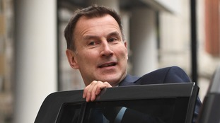 Jeremy Hunt said he recognised the NHS is under 'huge pressure'.