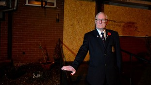 67-year-old John Pigott was alerted to the fire by a dog barking by his window.