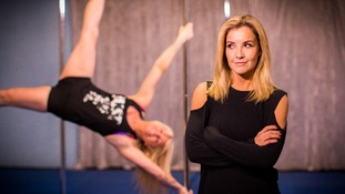 Helen Skelton meets Tracy