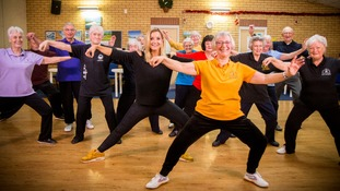 Helen visits a group of over 60s Tai Chi enthusiasts