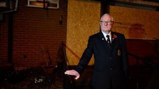 John Pigott rescued his neighbour from her burning home.