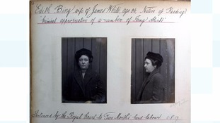 Edith Bing was admitted to Jersey General Hospital in 1917 as revealed in the new records released