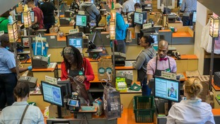 Jobs such as cashiers are vulnerable to automation.
