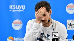 Andy Murray pulls out of Australian Open as right hip injury flares again