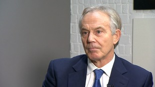 Brexit: Tony Blair says he and Jeremy Corbyn have 'profound disagreement' over Labour's stance