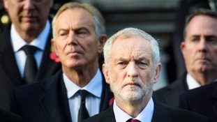Mr Blair did not speak with Mr Corbyn before his latest intervention.
