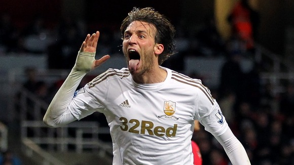 Twitter football Swansea Michu