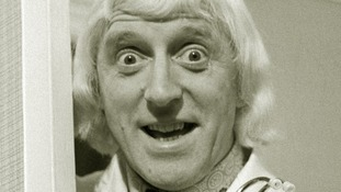 Jimmy Savile pictured in the 1970s