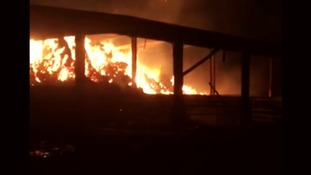 Could a serial arsonist be to blame for Devon barn fires?