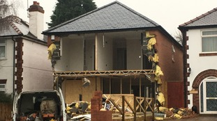 Vehicle recovered after unoccupied house is damaged in village near Bassetlaw