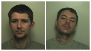 Armed robbers who threatened staff with knife and a machete jailed