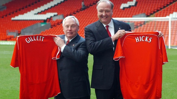 Former Liverpool owners George Gillett and Tom Hicks