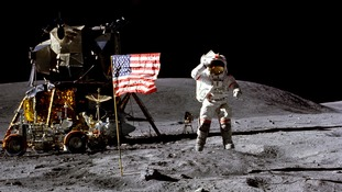 John Young was the ninth man to walk on the moon.
