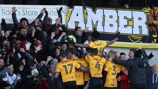 Leeds suffer late defeat to League Two's Newport County in the FA Cup