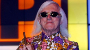 Jimmy Savile seen during a photocall at Top of the Pops at Television Centre