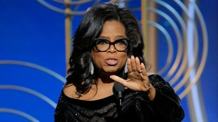 Oprah Winfrey delivers iconic Golden Globes speech calling out sexual abusers: 'Their time is up'
