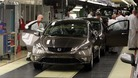 A Honda Civic rolls off the production line at Swindon&#x27;s plant in 2011.