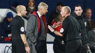 Mike Dean has admitted his mistake in awarding WBA a penalty against Arsenal according to referees' chief Mike Riley