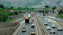 A1 near Gateshead.