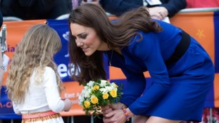 Duchess of Cambridge praises charity's volunteers in New Year letter