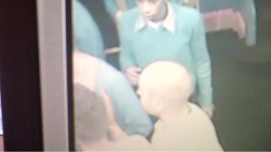 CCTV of group of men